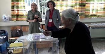 Ιωάννινα: Ψηφοφόρος ετών 103! (pics)