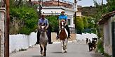 Ναύπλιο: Πήγαν να ψηφίσουν στις εκλογές καβάλα στα άλογα (pics)