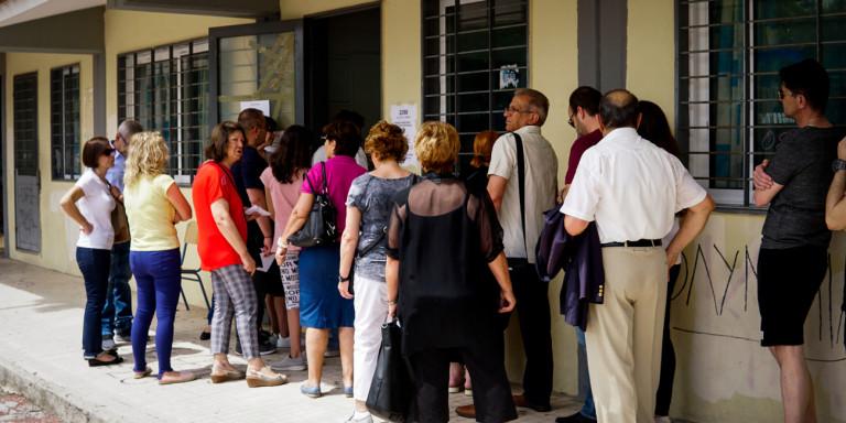 Τα παραλειπόμενα των εκλογών 2019 -Εκνευρισμός και αναμονή έως και 40 λεπτά (pics)