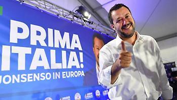 Κυριαρχία Σαλβίνι στην Ιταλία: Νίκη με 34%