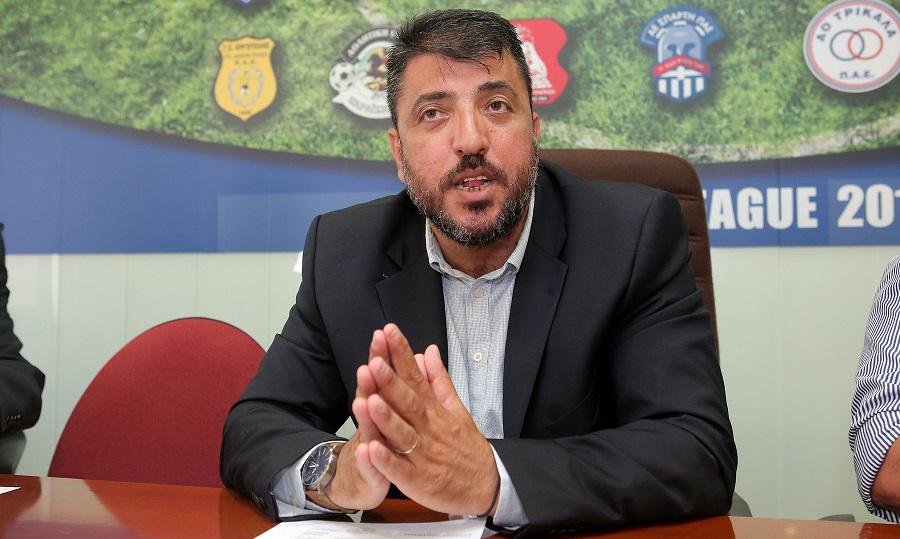 Λεουτσάκος: «Δεν έχουμε συζητήσει με κανέναν τον τρόπο διεξαγωγής της Super League 2»