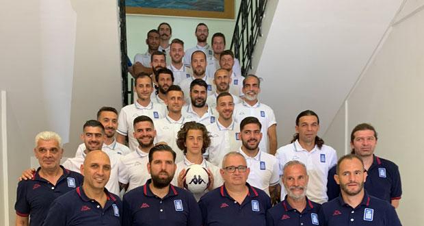 Στο Ηράκλειο το 9ο Ευρωπαϊκό Πρωτάθλημα Ποδοσφαίρου Κωφών Ανδρών