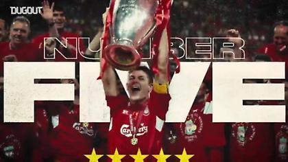 Το τρομερό βίντεο της Λίβερπουλ για τα 5 Champions League (video)