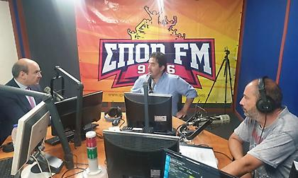 Χατζηδάκης στον ΣΠΟΡ FM: «Κατεύθυνση της ΝΔ να δοθεί λύση στο γηπεδικό του Παναθηναϊκού»