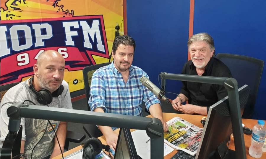 Βούρος στον ΣΠΟΡ FM: «Στο γήπεδο της ΑΕΚ να χτιστεί το brand name της Νέας Φιλαδέλφειας»