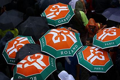 Αναβλήθηκαν λόγω κακοκαιρίας οι προημιτελικοί του Roland Garros