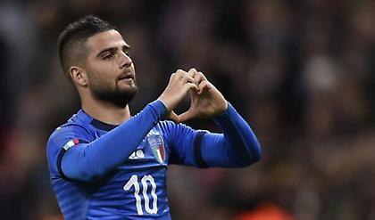 Γκολάρα ο Ινσίνιε και 1-1 η Ιταλία! (video)