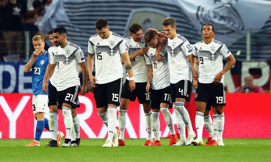 Χωρίς έλεος η Γερμανία, 8-0 την Εσθονία