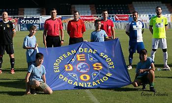 Η δέκατη μέρα του Πανελληνίου Πρωταθλήματος Ποδοσφαίρου Κωφών