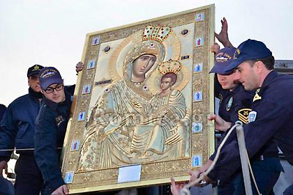 Έκλεψαν ιερή εικόνα της Παναγίας της Πορταΐτισσας από το Αγιον Ορος-Ανθρωποκυνηγητό για τον ληστή