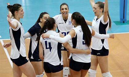 Ετοιμάζεται για τον «τελικό» με Σλοβενία η Εθνική βόλεϊ γυναικών