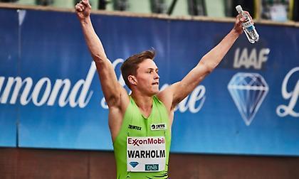 «Έσπασε» τα χρονόμετρα και έκανε ρεκόρ Ευρώπης ο Γουάρχολμ