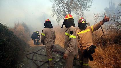 Σε εξέλιξη πυρκαγιά σε δασική έκταση στη Χαλκιδική