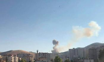 Δαμασκός: 8 τραυματίες από την έκρηξη σε αποθήκη πυρομαχικών