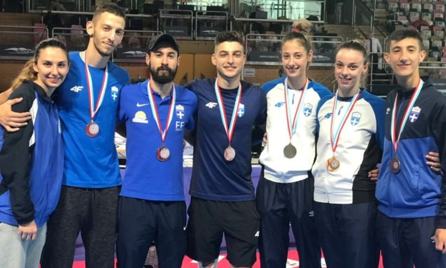 «Σάρωσε» τα μετάλλια η προολυμπιακή ομάδα ταεκβοντό στο τουρνουά του Λουξεμβούργου