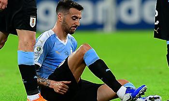 Πλήγμα για την Ουρουγουάη: Χάνει το υπόλοιπο Κόπα Αμέρικα ο Βεσίνο!