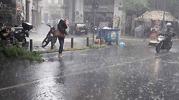 Ο καιρός σήμερα: Καταιγίδες και χαλάζι σε όλη τη χώρα - Πού θα «χτυπήσουν» έντονα φαινόμενα