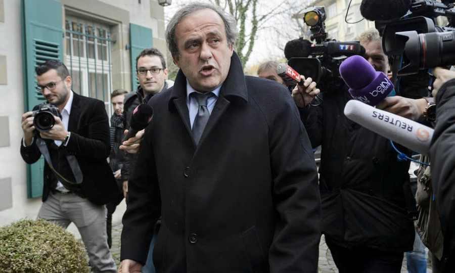 Συνελήφθη ο Πλατινί για το Μουντιάλ 2022