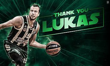 Παναθηναϊκός: «Ευχαριστούμε Λούκας και καλή τύχη στις μελλοντικές σου προσπάθειες»