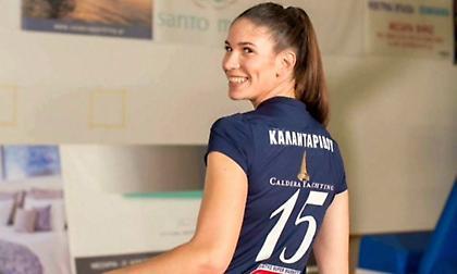 Καλανταρίδου: «Χαρούμενη που θα έχω την ευκαιρία να παίξω στον Ολυμπιακό»