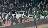 Στον εισαγγελέα 7 οπαδοί του Παναθηναϊκού για τη διακοπή του ντέρμπι