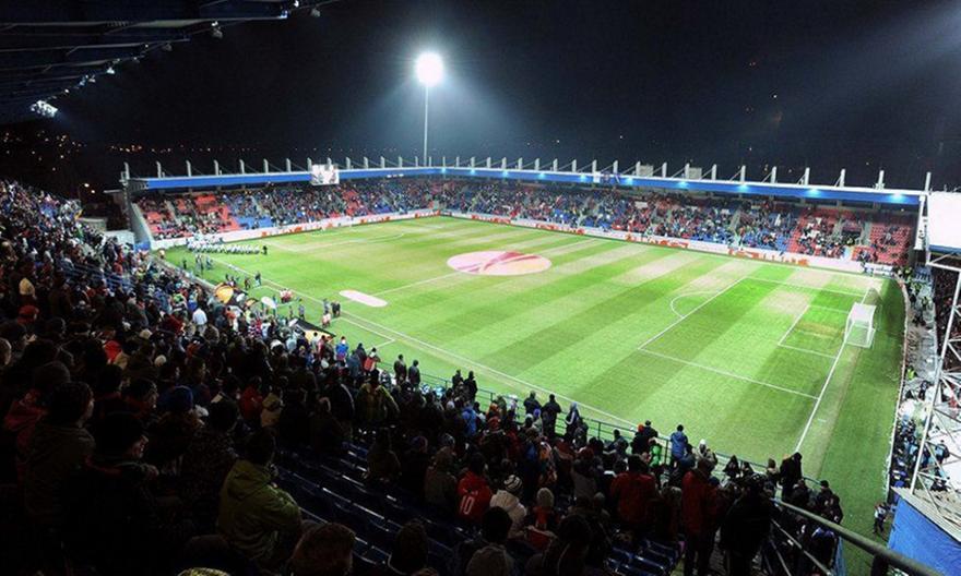 Το γήπεδο που θα υποδεχθεί η Βικτόρια Πλζεν τον Ολυμπιακό
