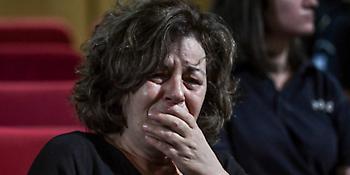 Δίκη Χρυσής Αυγής: Ξέσπασε σε κλάματα η Μάγδα Φύσσα μόλις αντίκρισε τον Ρουπακιά