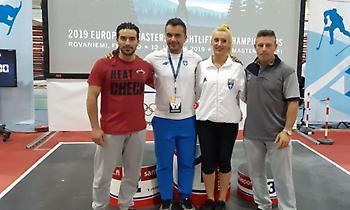 Μετάλλια και παγκόσμια ρεκόρ από τους Έλληνες στο Ευρωπαϊκό Πρωτάθλημα Masters άρσης βαρών