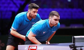 Μπήκαν στους «32» στο τουρνουά επιτραπέζιας αντισφαίρισης των Ευρωπαϊκών Αγώνων Γκιώνης, Σγουρόπουλο