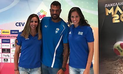Καραγκούνη στο sport-fm.gr: «Tο επίπεδο του beach volley έχει ανέβει κατακόρυφα στην Ευρώπη»