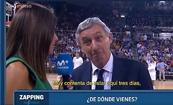 Η αντίδραση του Πέσιτς όταν άκουσε πως η ρεπόρτερ ήταν Μαδριλένα (video)