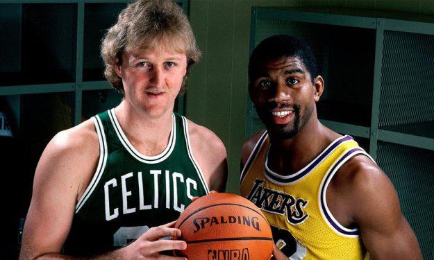 NBA: Βραβεύονται οι… θρύλοι Μάτζικ Τζόνσον και Λάρι Μπέρντ! (photo)
