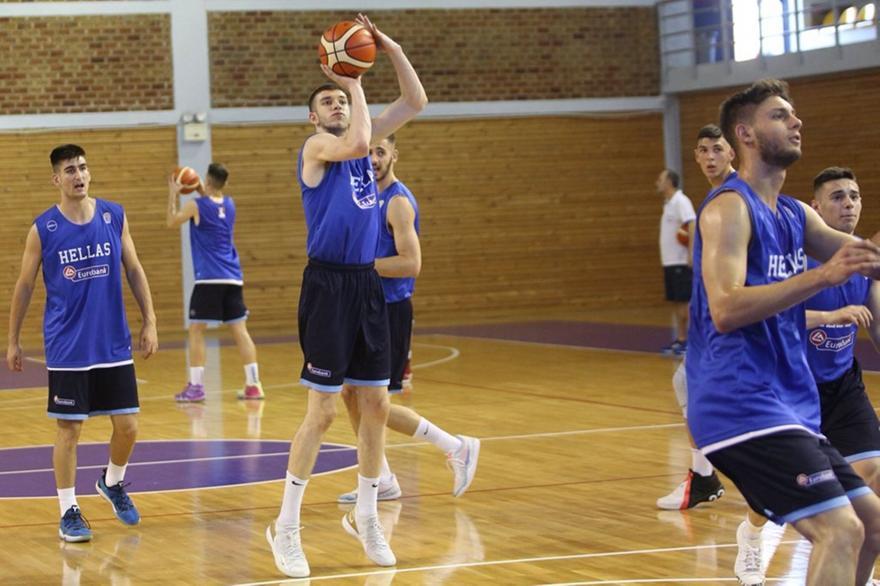 Γενική είσοδος 5 ευρώ στα φιλικά της U19 με Σερβία και ΗΠΑ
