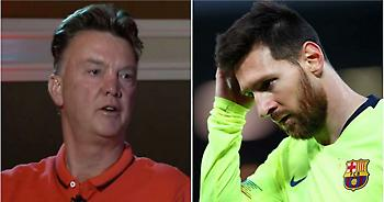 Φαν Χάαλ κατά Μέσι: «Κορυφαίος; Πόσα Champions League έχει πάρει;»