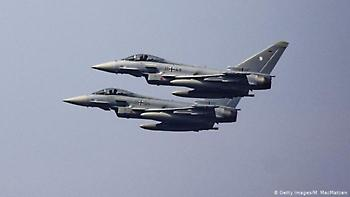 Γερμανία: Δύο μαχητικά eurofighter συγκρούστηκαν στον αέρα
