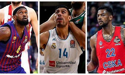 Ευρωλίγκα: Το Eurohoops παρουσιάζει ΟΛΟΥΣ τους Free Agents!