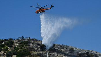 Υψηλός κίνδυνος πυρκαγιάς σε Αττική, δυτική Στερεά και Πελοπόννησο