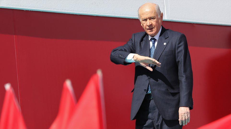 Ξέφυγαν οι Τούρκοι: «Θα σας ρίξουμε στη θάλασσα όπως στη Σμύρνη», λέει ο Μπαχτσελί