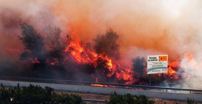 Ισπανία: Μεγάλη πυρκαγιά στην Καταλονία