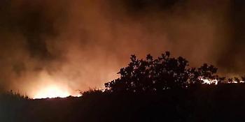 Φωτιά στη Κάρυστο: Υπό πλήρη έλεγχο η πυρκαγιά -Νύχτα τρόμου με εκκένωση σπιτιών