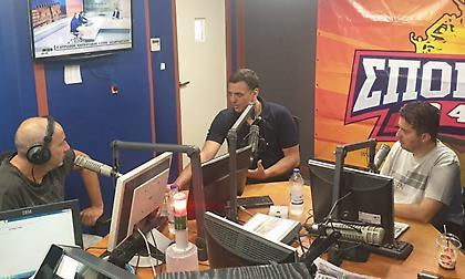 Ο Βασίλης Κικίλιας στον ΣΠΟΡ FM 94,6