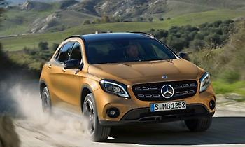 Με τη Mercedes-Benz GLA στη Χαλκιδική