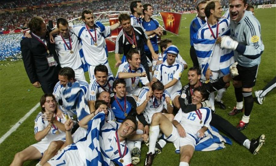 H ενδεκάδα των Legends 2004 για τη ρεβάνς με την Πορτογαλία