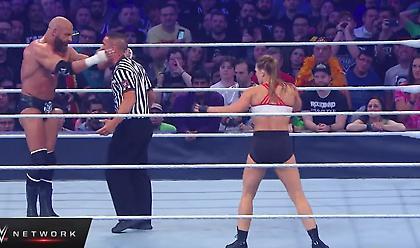 Ολόκληρο το ντεμπούτο της Ronda Rousey στο WWE