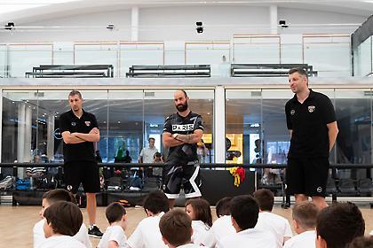 Η «Αγία Τριάδα» των γκαρντ του ελληνικού μπάσκετ στο Eurohoops Dome