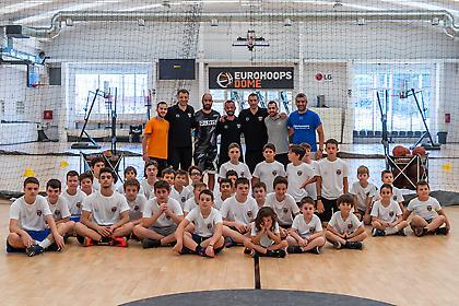 Eurohoops Academy Summer Camp: Ο Βασίλης Σπανούλης στο Eurohoops Dome! (video)