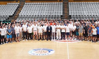Ευρωλίγκα: Άκρως επιτυχημένο το πρώτο συνέδριο της Ένωσης Προπονητών