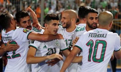 Πρόκριση με τριάρα για Αλγερία