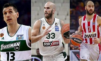 Οι MVP της Basket League: Ο Καλάθης έπιασε Σπανούλη & κυνηγά Γκάλη, Διαμαντίδη!
