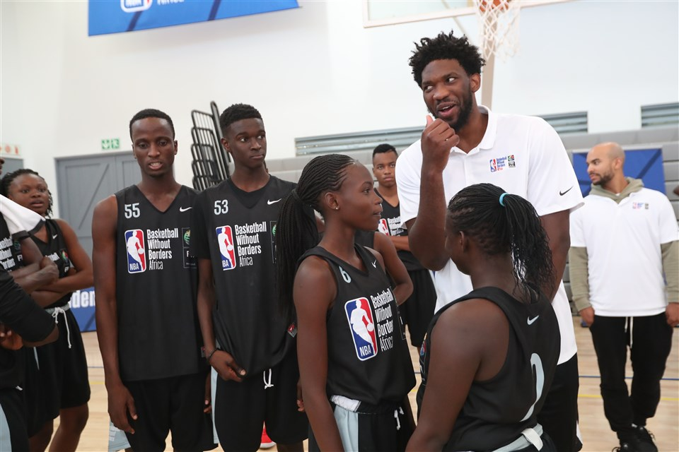 Συνεργασία ΝΒΑ με FIBA για το μπάσκετ χωρίς σύνορα στη Σενεγάλη